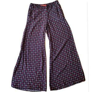 Anthropologie Cartonnier Emblem Wide Leg Pants